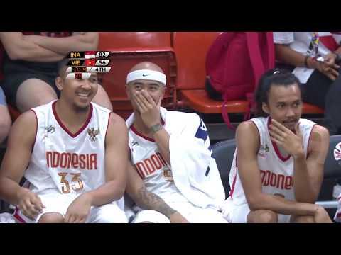 Indonesia vs Vietnam - Basketball Highlights - SeaGames Kuala Lumpur 2017
