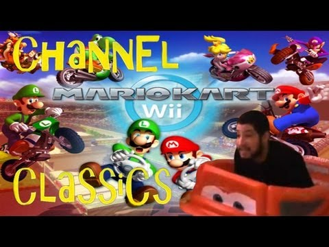Channel classic baby peach comeback mario kart wii w for Coupe miroir mario kart wii