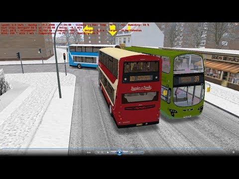 Omsi 2 tour (1370) NewCastle bus 10 North Kenton - West Denton Park @ Volvo B9TL Wright 紐卡素