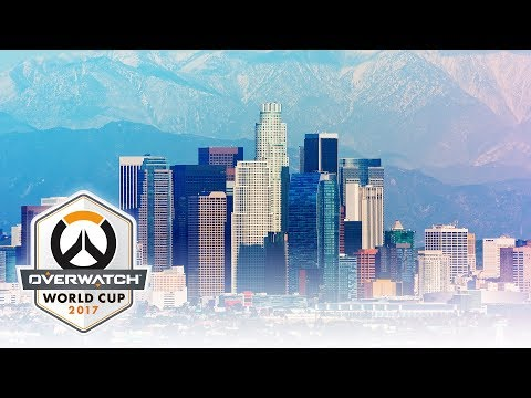 2017 Overwatch World Cup |  Group Stage - LA | USA vs New Zealand