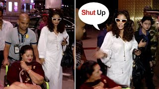 Kajol SHOUTS At Ajay Devgan's Mother & FIGHTS With Her Publicly At Airport