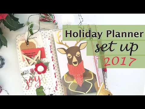 Holiday Planner Set UP  Ideas for Tracking Budget, Gifts and Decor