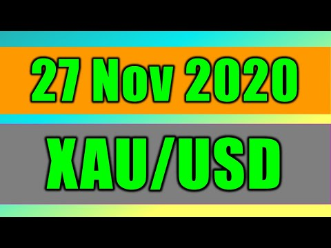 XAU/USD Daily Forecast Analysis on 27 November 2020 by Trading Gold Today Review