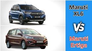 Maruti Suzuki XL6 (Zeta) Vs Maruti Suzuki Ertiga (VDI) Comparison 2019 with Price, Feature, Engine