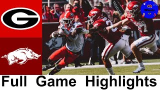 #4 Georgia vs Arkansas Highlights | College Football Week 4 | 2020 College Football Highlights