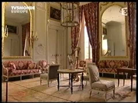 restauration le petit trianon marie antoinette chateau de versailles 5 youtube. Black Bedroom Furniture Sets. Home Design Ideas