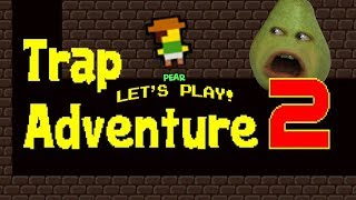 Pear FORCED to play Trap Adventure 2