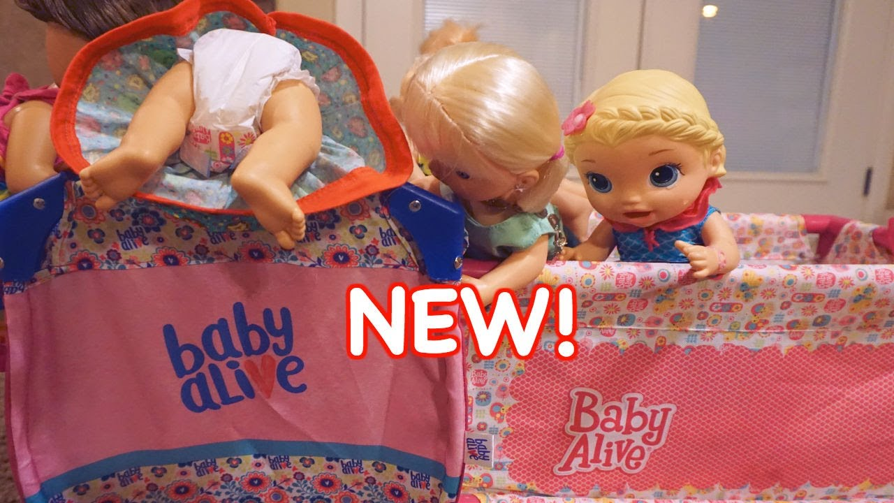 Baby Alive New Crib Opening New Baby Alive Bed Youtube