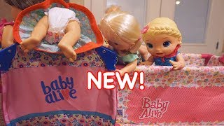 BABY ALIVE NEW Crib! Opening New Baby Alive Bed!