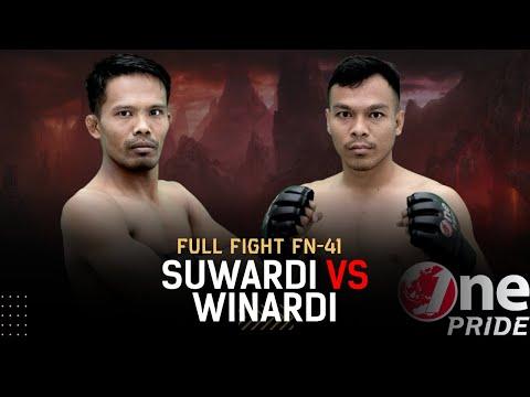 Main Event Of The Night! Suwardi VS Winardi   Full Fight One Pride MMA FN 41