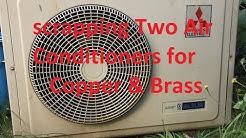 Scrapping Two Mitsubishi Mr Slim Air Conditioners
