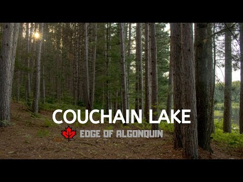 COUCHAIN LAKE FISHING! |  SCOUTING FOR CAMPSITES! | EDGE OF ALGONQUIN