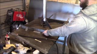 2 X 72 Belt Sander Stand Fabrication