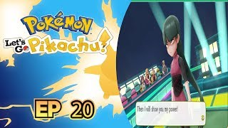 Pokemon Lets Go Pikachu Ep. 20-PSYCHIC SHOWDOWN!!