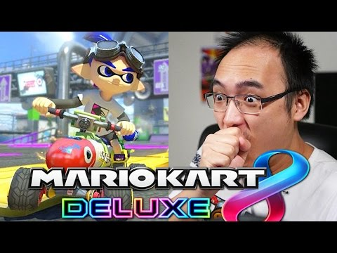 nouveau personnage mario kart 8 deluxe youtube. Black Bedroom Furniture Sets. Home Design Ideas