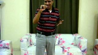 Shakeel Karaoke Tujh Se Naraz Nahi Zindagi
