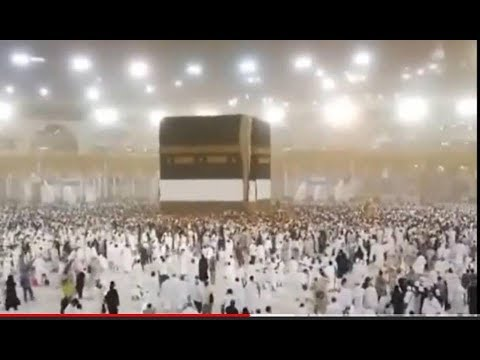 INFO HAJI 2018 !! hujan angin di arofah / makkah almukaromah menjelang wukuf