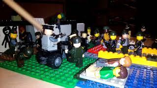 Лего самоделка ( бой ) тема Вторая Мировая война