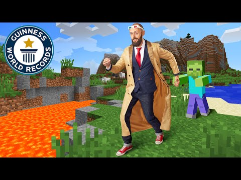 Longest Journey in Minecraft - Kurt J Mac - Guinness World Records