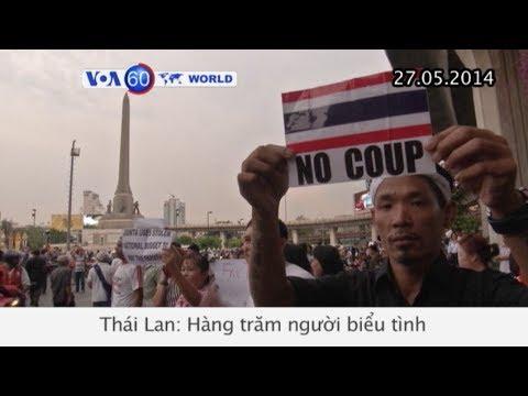 Người dân tiếp tục biểu tình ở Thái Lan (VOA60)