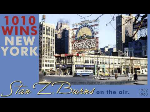 1960, Stan Z. Burns, 1010 WINS Radio, New York broadcast, Hi Def.wmv