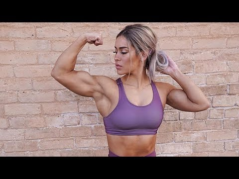 Girl With Muscle || Cassandra Martin Workout || Female Bodybuilding