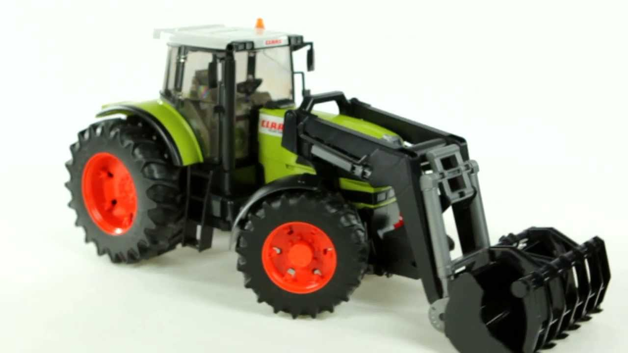 Bruder Claas Claas Atles 936 Rz Tractor With Frontloader Bruder 03011 Muffin Songs Toy Review