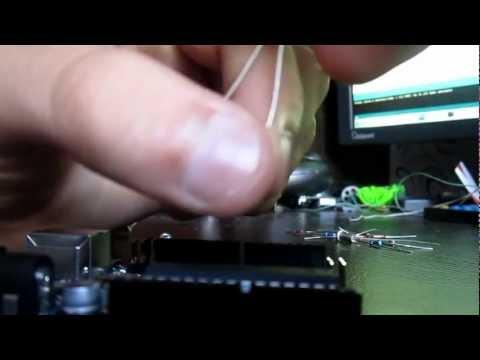 Arduino и фотодиод.