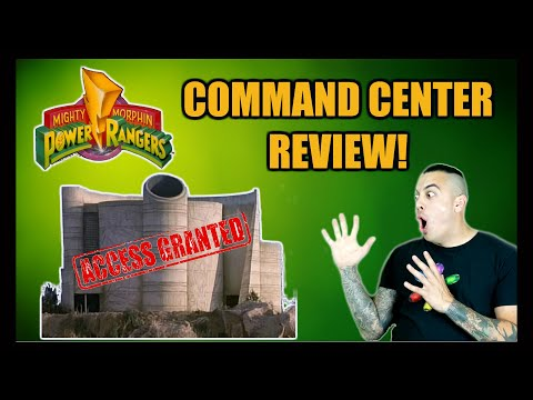 Mighty Morphin Power Ranger Command Center Review Simi Valley California VLOG House of the Book MMPR