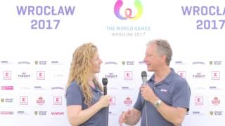 WFDF President Nob Rauch at The World Games 2017