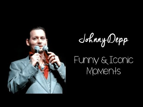 Johnny Depp Funny and Iconic Moments
