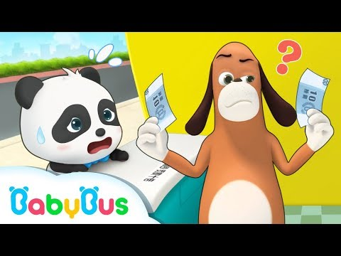 Which One is the Real Money? | Baby Panda's Magic Bow Tie | Magical Chinese Characters | BabyBus