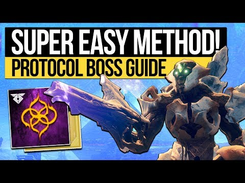 Destiny 2 | ESCALATION PROTOCOL CHEESE! Boss Kill Methods, Legit Boss Fight Guide & 9 Player Tips!