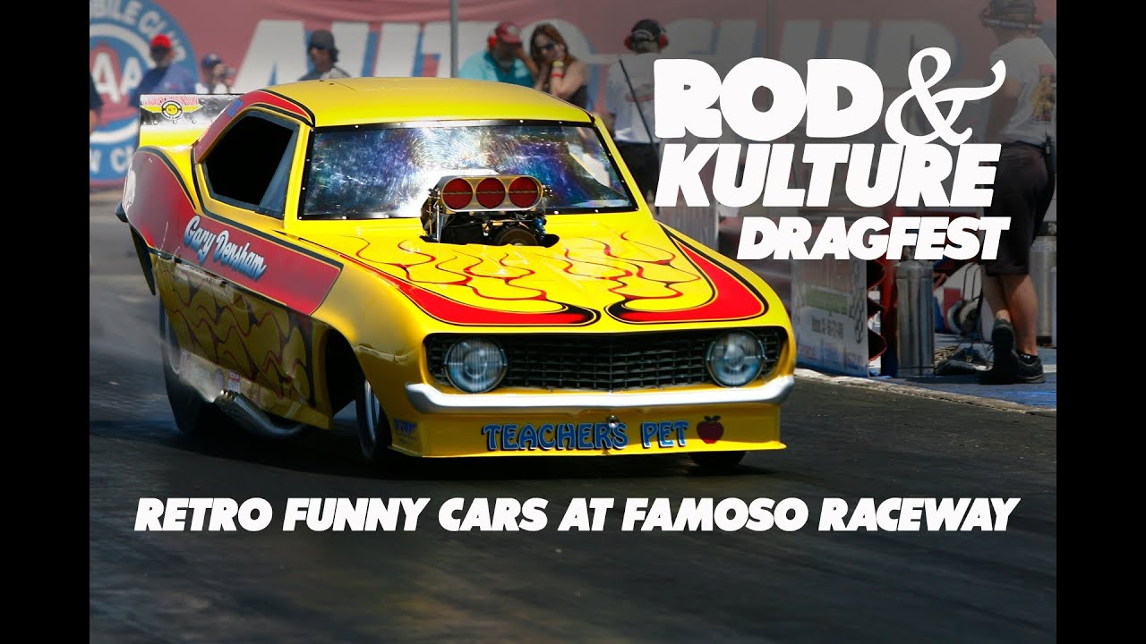 Rod & Kulture Drag Festival at Famoso Raceway - Muscle Car