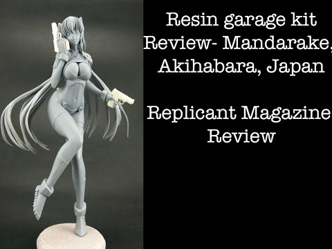 Resin kit/Replicant magazine review/ Mandarake