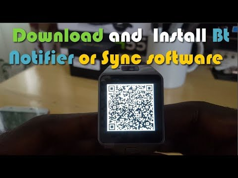 DZ09 How To Download And Install Bt Notifier Or Sync App For Android