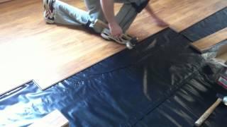 How To Install Pergo Laminate Flooring On Concrete Subfloor You