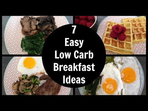 7 Easy Low Carb Breakfast Ideas | Keto Diet Breakfast Recipes