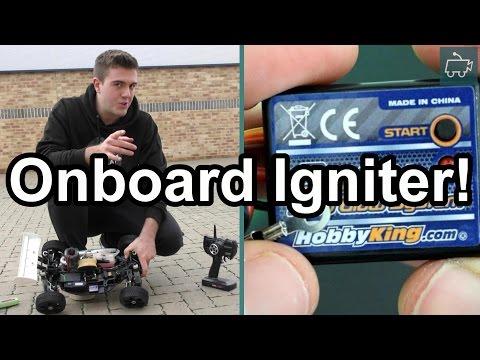 Testing the Onboard Nitro Glow Plug Igniter! Hobao Hyper 7