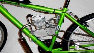 BiCYCLE w/ ENGINE AMAZING TOPSPEED