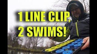 1 LINE CLIP, 2 DIFFERENT SWIMS!