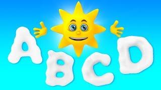 песня abc | учить английский и алфавиты | Abc Song | Alphabets Rhymes | Russian Kids Songs
