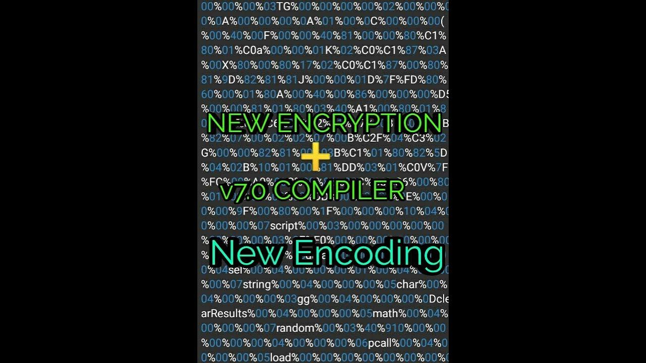 Encrypt GG LUA Script , New V7 0 Compiler (New Encode Method)