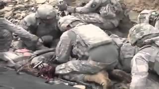 Emboscada - soldado americano leva tiro na cabeça