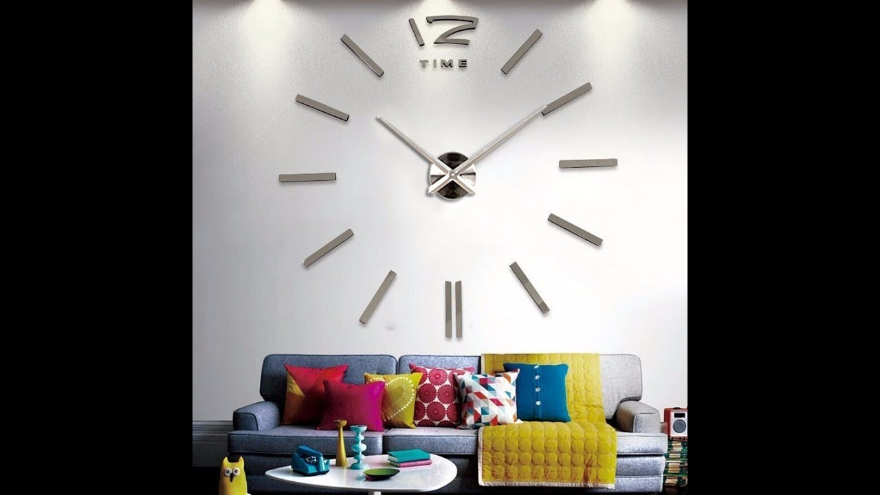 Aliexpress Decoration Maison Horloge Murale Design Silver 3d Aliexpress Francophone