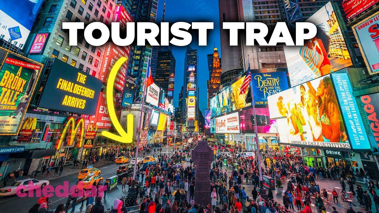 How Times Square Became A Giant Tourist Trap - Cheddar Explains