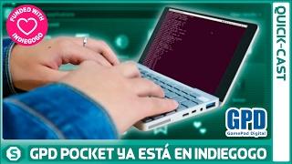 GPD Pocket ya está financiada en Indiegogo