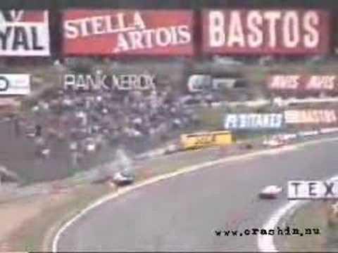 Death of Stefan Bellof in Spa