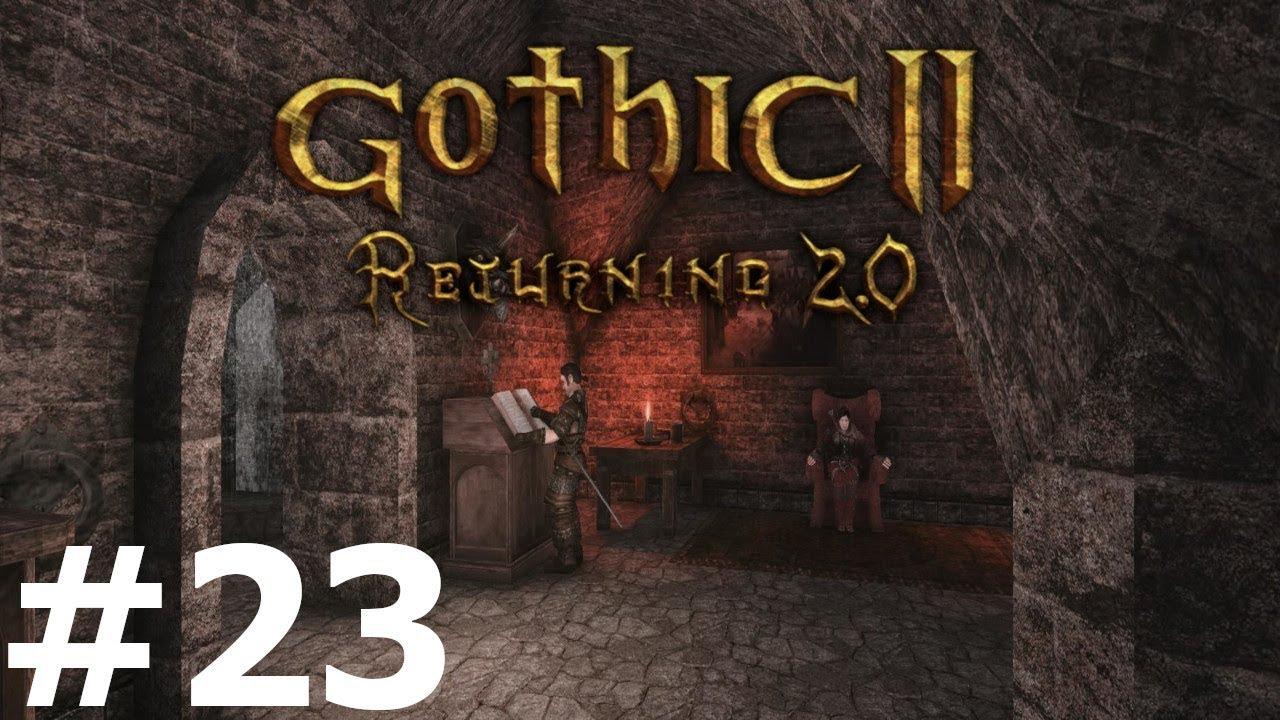 Gothic 2 NK: Returning 2.0 (23) — Irdorath i Wypadek - YouTube