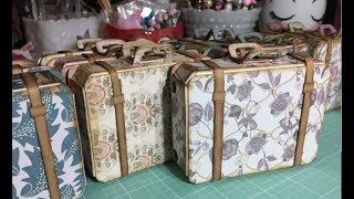 Project Share (Tutorial): Sizzix Scoreboards XL Bag, Suitcase